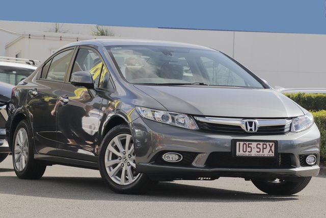 Used Honda Civic VTi-LN, Bowen Hills, 2012 Honda Civic VTi-LN Sedan