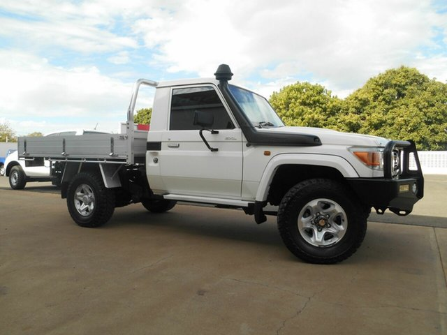 Used Toyota Landcruiser GXL, Mount Isa, 2013 Toyota Landcruiser GXL VDJ79R MY13 Cab Chassis