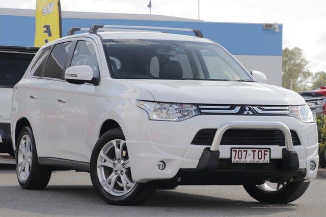 Used Mitsubishi Outlander Aspire 4WD, Bowen Hills, 2013 Mitsubishi Outlander Aspire 4WD Wagon