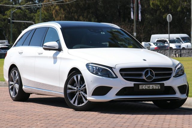 Demonstrator, Demo, Near New Mercedes-Benz C-Class C200 Estate 9G-Tronic, Warwick Farm, 2018 Mercedes-Benz C-Class C200 Estate 9G-Tronic Wagon