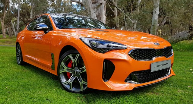 Demonstrator, Demo, Near New Kia Stinger GT Fastback, Tanunda, 2019 Kia Stinger GT Fastback Sedan