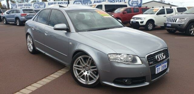 Discounted Used Audi A4 S Line Tiptronic Quattro, East Bunbury, 2008 Audi A4 S Line Tiptronic Quattro Sedan