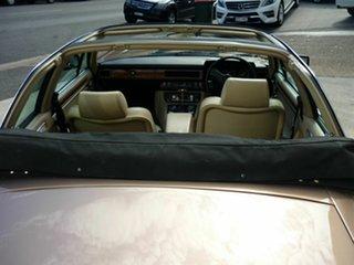 1986 Jaguar XJSC V12 Cabriolet.
