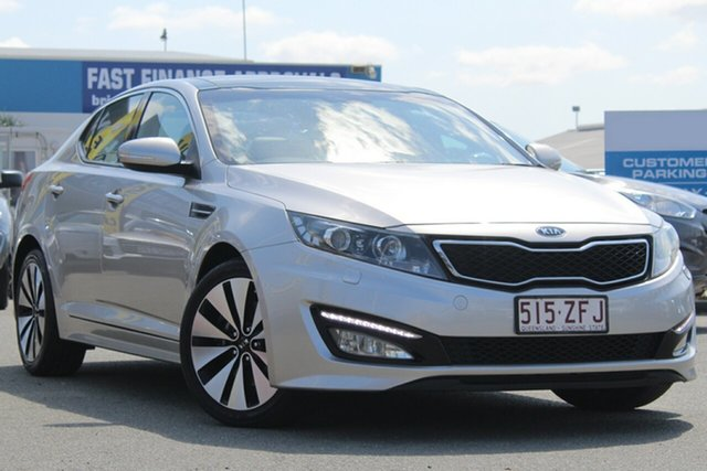 Used Kia Optima Platinum, Bowen Hills, 2012 Kia Optima Platinum Sedan