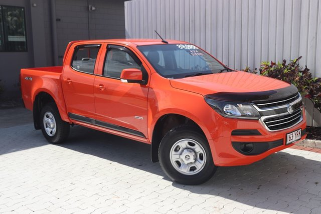 Used Holden Colorado LS Pickup Crew Cab, Cairns, 2018 Holden Colorado LS Pickup Crew Cab Utility