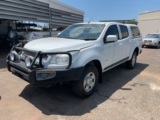 Used Holden Colorado LX Crew Cab, Winnellie, 2014 Holden Colorado LX Crew Cab Utility
