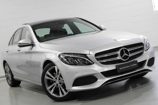 Used Mercedes-Benz C-Class C200 7G-Tronic +, Chatswood, 2016 Mercedes-Benz C-Class C200 7G-Tronic + Sedan