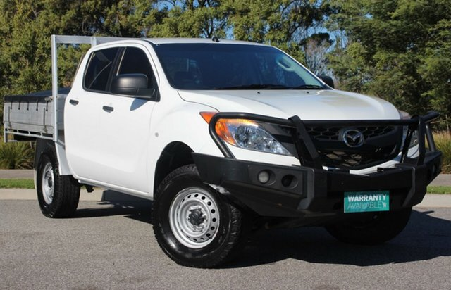 Used Mazda BT-50 XT, Officer, 2015 Mazda BT-50 XT Cab Chassis