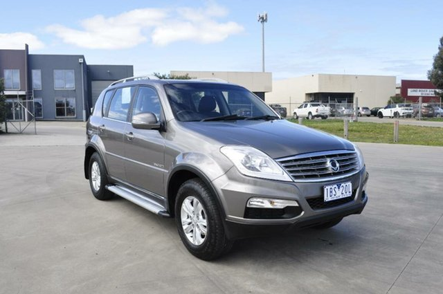 Used Ssangyong Rexton II RX270 XDI (7 Seat), Hoppers Crossing, 2013 Ssangyong Rexton II RX270 XDI (7 Seat) Wagon