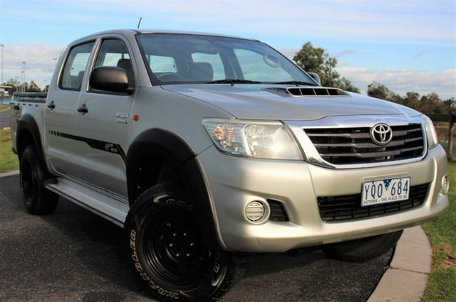 Used Toyota Hilux SR Double Cab, Officer, 2011 Toyota Hilux SR Double Cab Utility