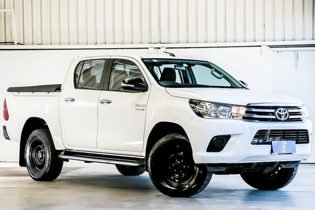 Used Toyota Hilux SR Double Cab, Laverton North, 2016 Toyota Hilux SR Double Cab Cab Chassis