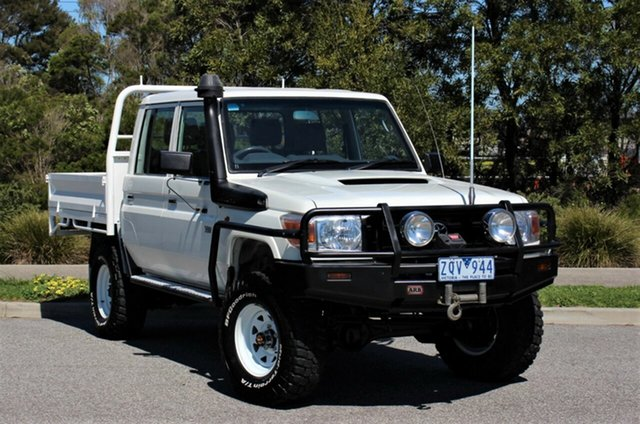 Used Toyota Landcruiser Workmate Double Cab, Officer, 2013 Toyota Landcruiser Workmate Double Cab Cab Chassis