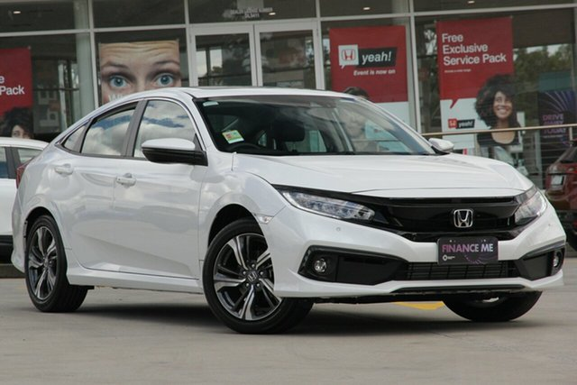 Discounted Demonstrator, Demo, Near New Honda Civic VTi-LX, Narellan, 2019 Honda Civic VTi-LX Sedan