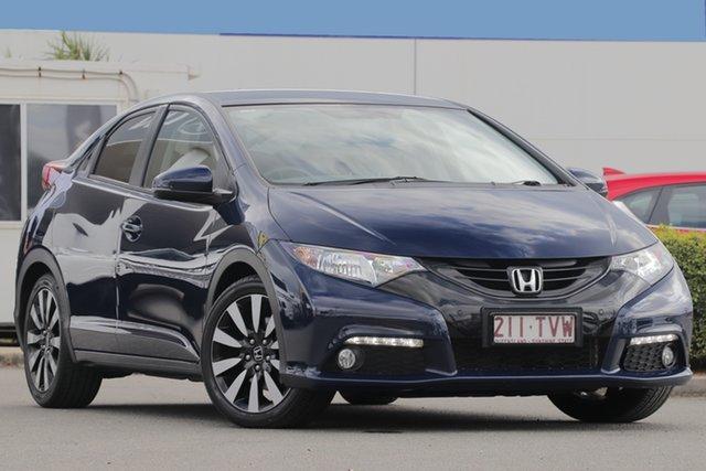Used Honda Civic VTi-LN, Bowen Hills, 2014 Honda Civic VTi-LN Hatchback