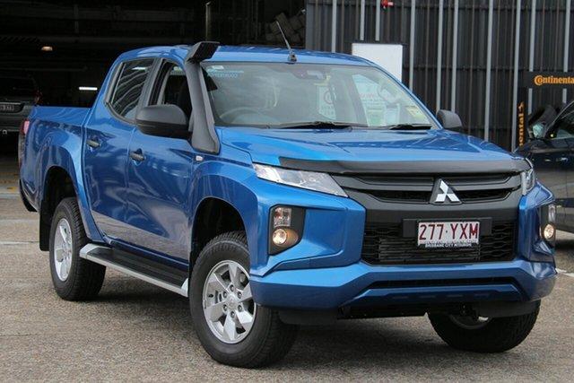 Demonstrator, Demo, Near New Mitsubishi Triton GLX+ Double Cab, Bowen Hills, 2018 Mitsubishi Triton GLX+ Double Cab Utility