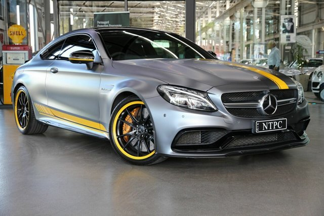 Used Mercedes-Benz C-Class C63 AMG SPEEDSHIFT MCT S, North Melbourne, 2016 Mercedes-Benz C-Class C63 AMG SPEEDSHIFT MCT S Coupe