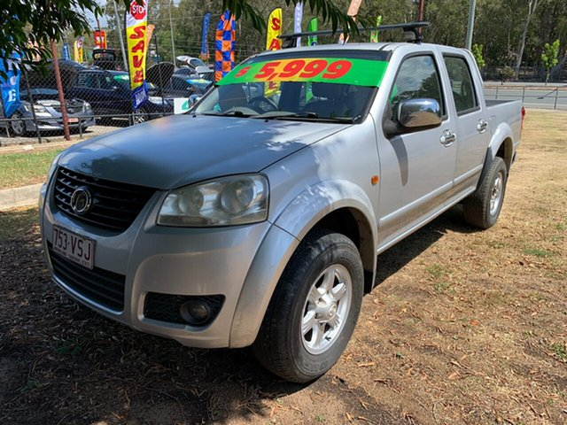 Used Great Wall V240 (4x4), Clontarf, 2011 Great Wall V240 (4x4) Dual Cab Utility