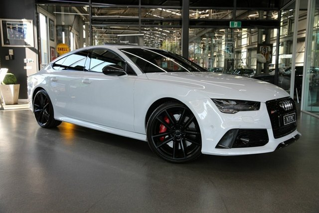Used Audi RS 7 performance Sportback Tiptronic Quattro, North Melbourne, 2016 Audi RS 7 performance Sportback Tiptronic Quattro Hatchback