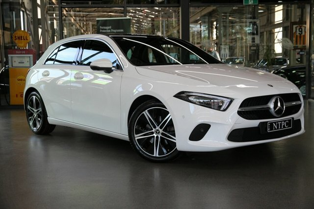Used Mercedes-Benz A-Class A200 DCT, North Melbourne, 2018 Mercedes-Benz A-Class A200 DCT Hatchback