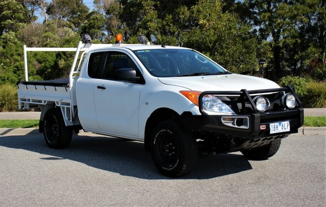 Used Mazda BT-50 XT Freestyle, Officer, 2014 Mazda BT-50 XT Freestyle Cab Chassis