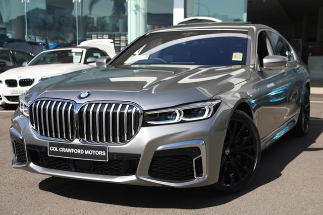 Demonstrator, Demo, Near New BMW 740i M Sport, Brookvale, 2019 BMW 740i M Sport Sedan