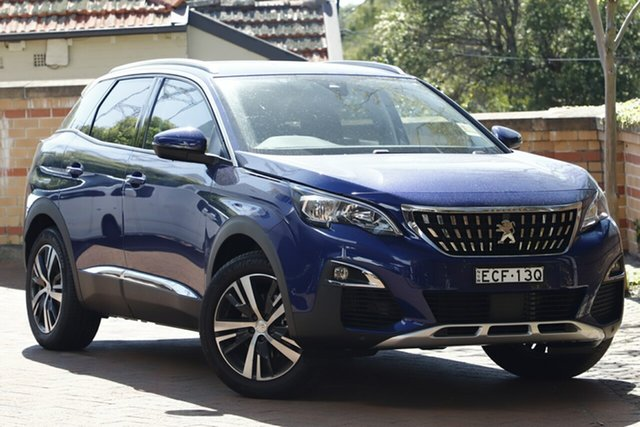 Discounted Demonstrator, Demo, Near New Peugeot 3008 Allure SUV, Artarmon, 2019 Peugeot 3008 Allure SUV Hatchback