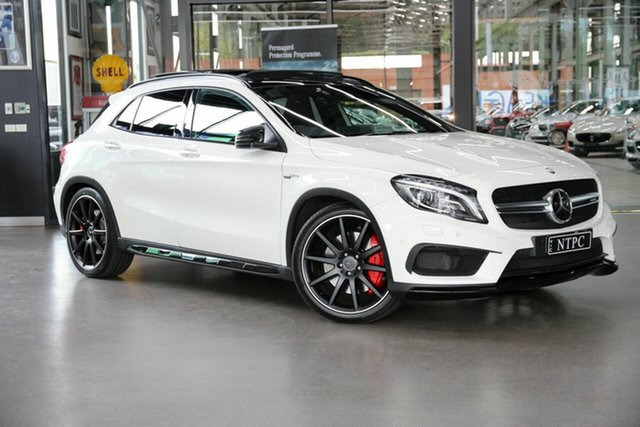 Used Mercedes-Benz GLA-Class GLA45 AMG SPEEDSHIFT DCT 4MATIC, North Melbourne, 2017 Mercedes-Benz GLA-Class GLA45 AMG SPEEDSHIFT DCT 4MATIC Wagon