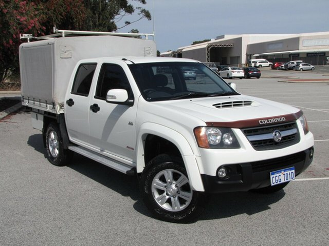 Used Holden Colorado LX Crew Cab, Maddington, 2008 Holden Colorado LX Crew Cab Utility