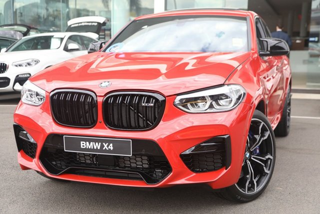 Demonstrator, Demo, Near New BMW X4 M Competition xDrive, Brookvale, 2019 BMW X4 M Competition xDrive Coupe