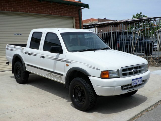 Used Ford Courier GL Crew Cab, Mount Lawley, 2001 Ford Courier GL Crew Cab Utility