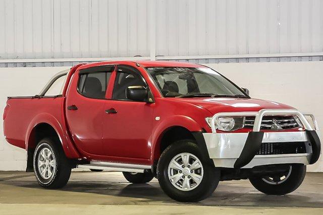 Used Mitsubishi Triton GLX Double Cab, Laverton North, 2014 Mitsubishi Triton GLX Double Cab Utility