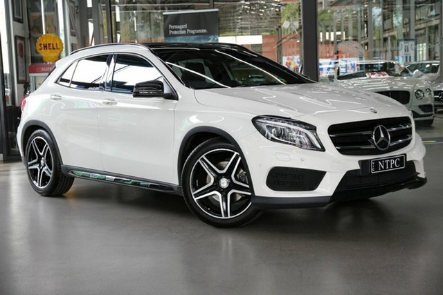 Used Mercedes-Benz GLA-Class GLA250 DCT 4MATIC, North Melbourne, 2017 Mercedes-Benz GLA-Class GLA250 DCT 4MATIC Wagon