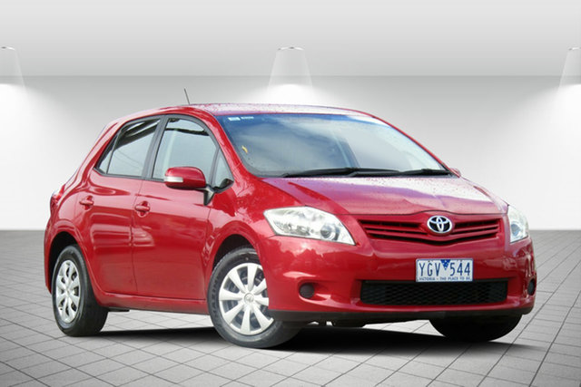 Used Toyota Corolla Ascent, Oakleigh, 2011 Toyota Corolla Ascent Hatchback