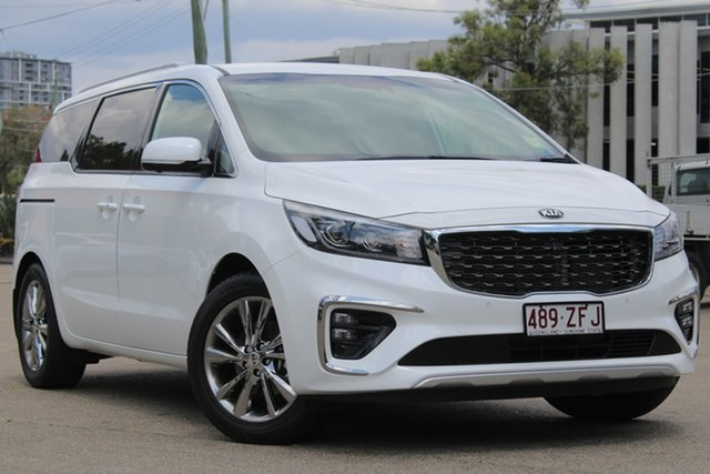 Demonstrator, Demo, Near New Kia Carnival Platinum, Toowong, 2019 Kia Carnival Platinum Wagon