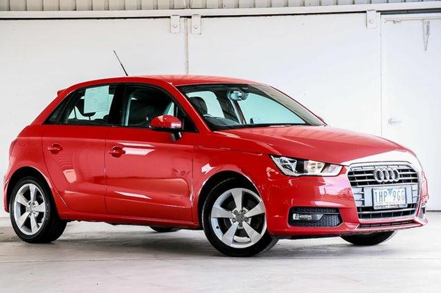 Used Audi A1 Sport Sportback S Tronic, Laverton North, 2015 Audi A1 Sport Sportback S Tronic Hatchback