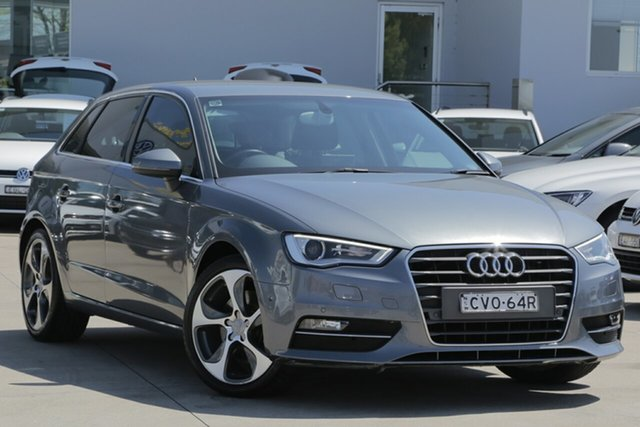 Used Audi A3 Ambition Sportback S Tronic, Waitara, 2014 Audi A3 Ambition Sportback S Tronic Hatchback