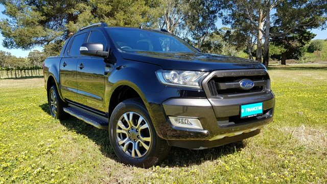 Used Ford Ranger Wildtrak Double Cab, Tanunda, 2017 Ford Ranger Wildtrak Double Cab Utility