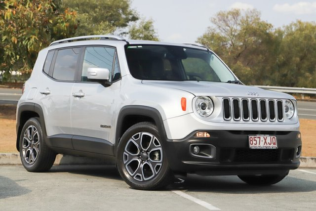 Used Jeep Renegade Limited DDCT, Indooroopilly, 2017 Jeep Renegade Limited DDCT Hatchback