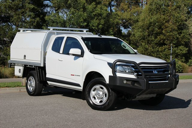 Used Holden Colorado LS Space Cab, Officer, 2017 Holden Colorado LS Space Cab Cab Chassis