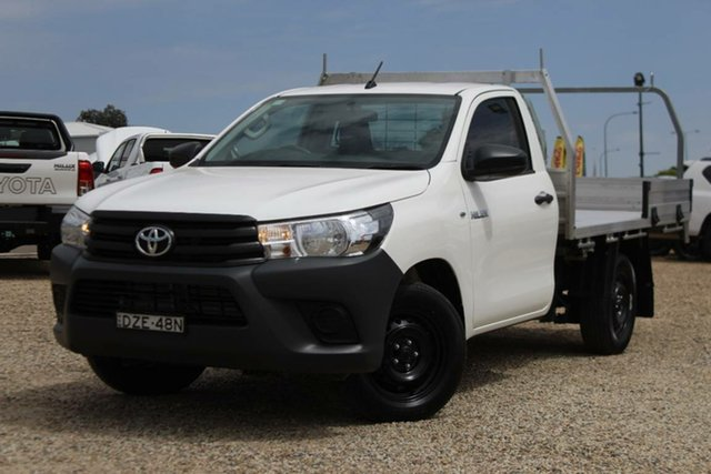 Used Toyota Hilux Workmate, Bathurst, 2018 Toyota Hilux Workmate Cab Chassis