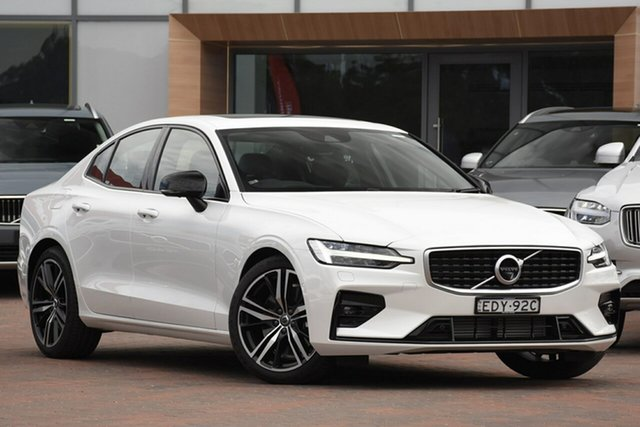 Discounted Demonstrator, Demo, Near New Volvo S60 T5 Geartronic AWD R-Design, Warwick Farm, 2019 Volvo S60 T5 Geartronic AWD R-Design Sedan