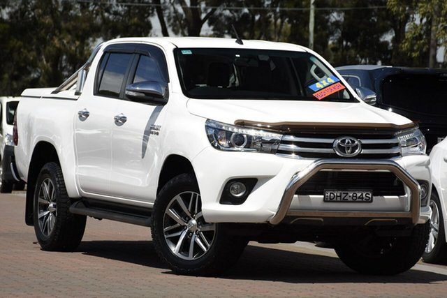 Used Toyota Hilux SR5 Double Cab, Narellan, 2016 Toyota Hilux SR5 Double Cab Utility
