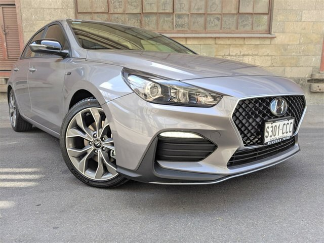 Demonstrator, Demo, Near New Hyundai i30 N Line D-CT, Cheltenham, 2019 Hyundai i30 N Line D-CT Hatchback