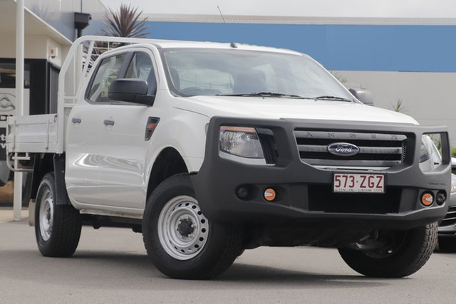 Used Ford Ranger XL Double Cab, Bowen Hills, 2014 Ford Ranger XL Double Cab Cab Chassis
