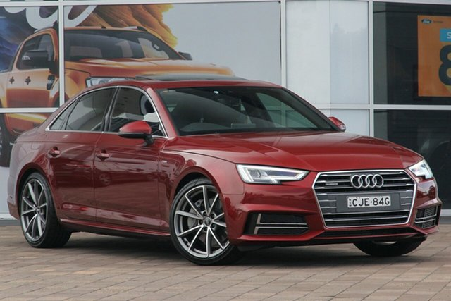 Discounted Used Audi A4 Sport S Tronic Quattro, Warwick Farm, 2015 Audi A4 Sport S Tronic Quattro Sedan