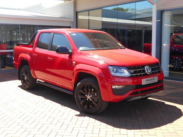 Discounted New Volkswagen Amarok TDI580 4MOTION Perm Highline Black, Toowoomba, 2019 Volkswagen Amarok TDI580 4MOTION Perm Highline Black Utility