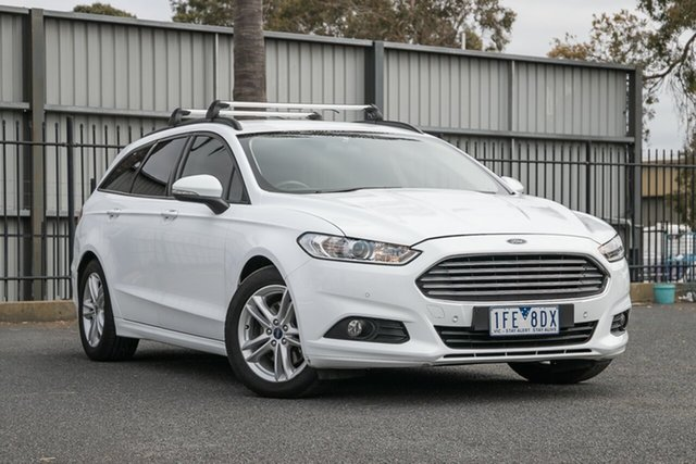 Used Ford Mondeo Ambiente PwrShift, Oakleigh, 2015 Ford Mondeo Ambiente PwrShift MD Wagon