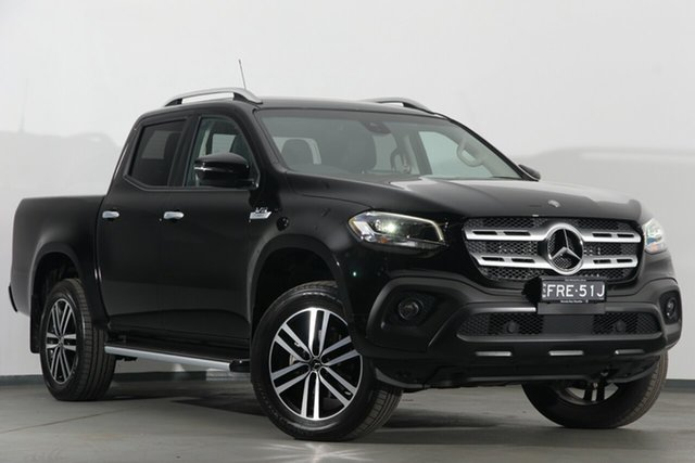 Demonstrator, Demo, Near New Mercedes-Benz X-Class X350d 7G-Tronic + 4MATIC Progressive, Narellan, 2018 Mercedes-Benz X-Class X350d 7G-Tronic + 4MATIC Progressive Utility