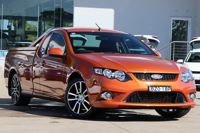 Used Ford Falcon XR6 Ute Super Cab Limited Edition, Waitara, 2011 Ford Falcon XR6 Ute Super Cab Limited Edition Utility