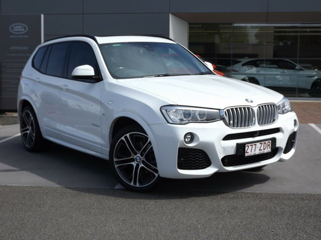 Used BMW X3 xDrive30d Steptronic, Toowoomba, 2017 BMW X3 xDrive30d Steptronic Wagon